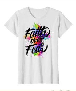 Faith over fear watercolor