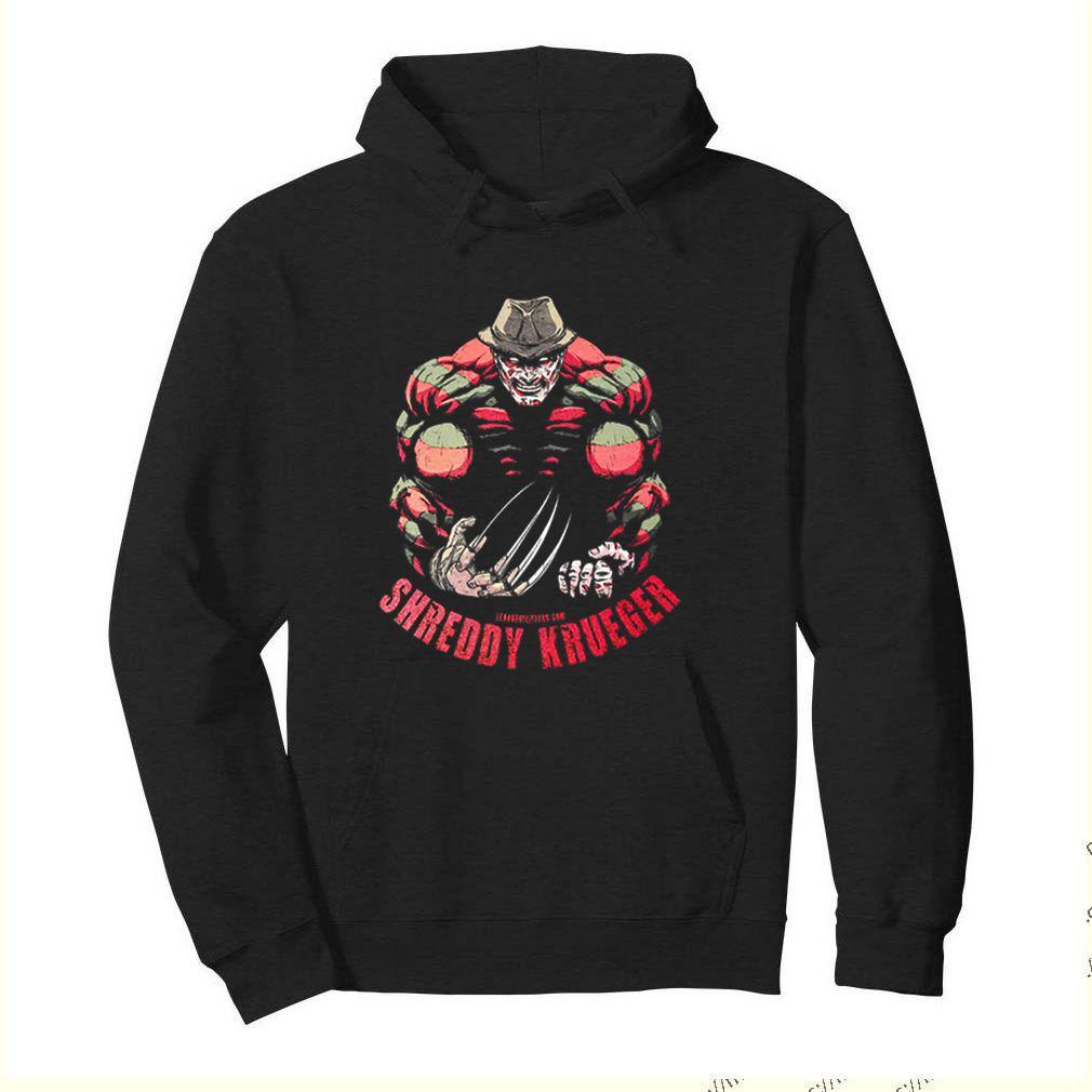 Freddy Krueger Shreddy Krueger League Of Lifters shirt 4