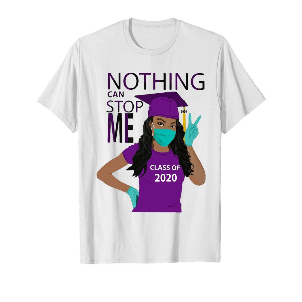 Graduation Nothing Can Stop Me Class Of 2020 Purple