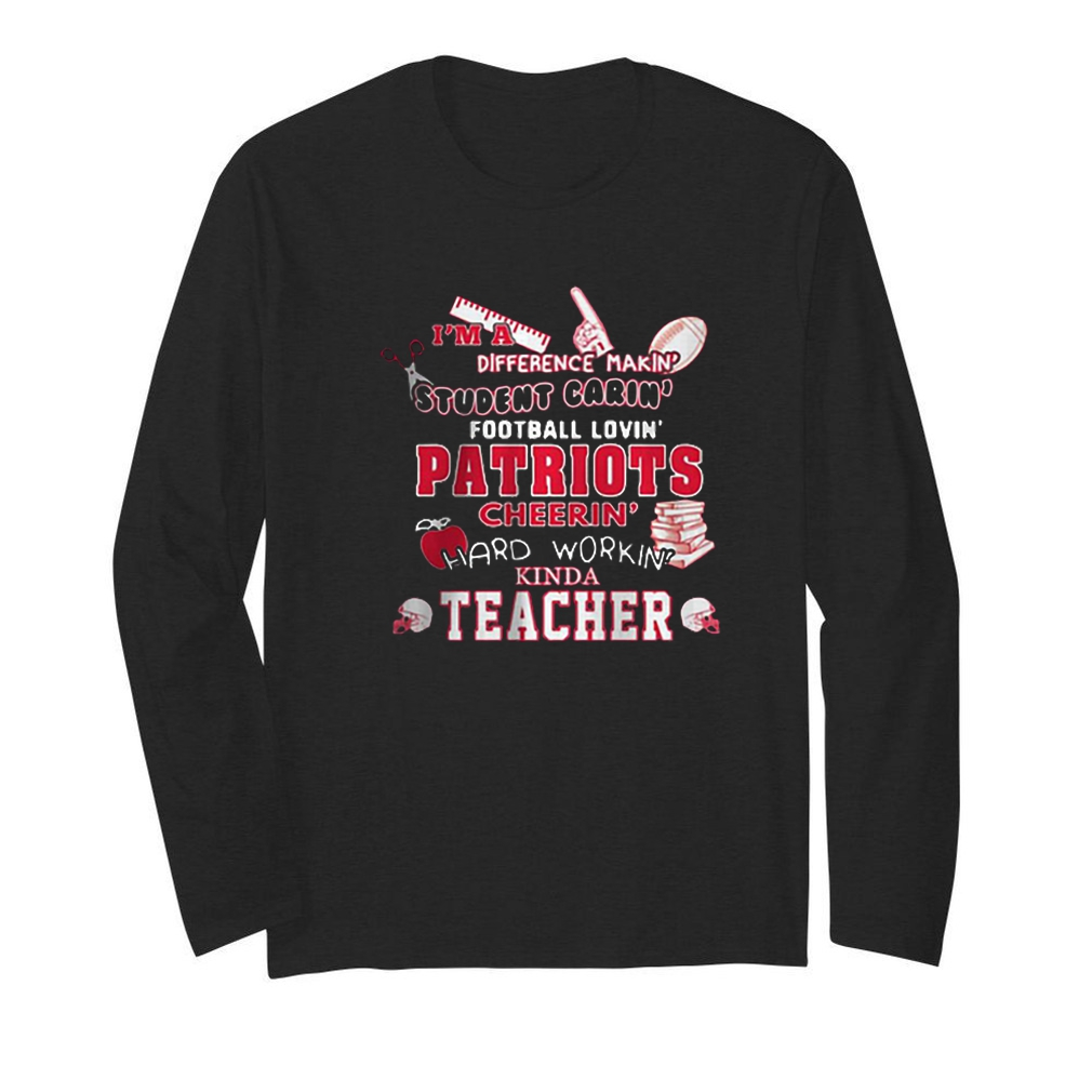 I'm a difference making student caring football loving Patriots teacher