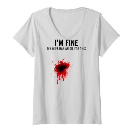 I'm fine my wife has an oil for this blood