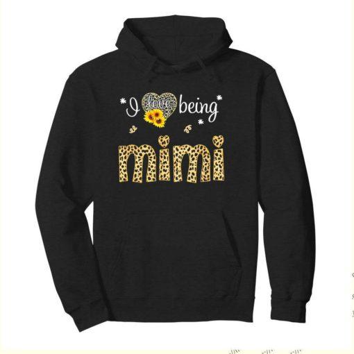 I love being Mimi leopard sunflower