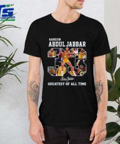 Kareem Abdul Jabbar 33 greatest oKareem Abdul Jabbar 33 greatest of all time signature f all time signature