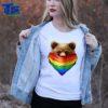 LGBT Gay Pride Rainbow Flag CalifoLGBT Gay Pride Rainbow Flag California Bear Men Women rnia Bear Men Women