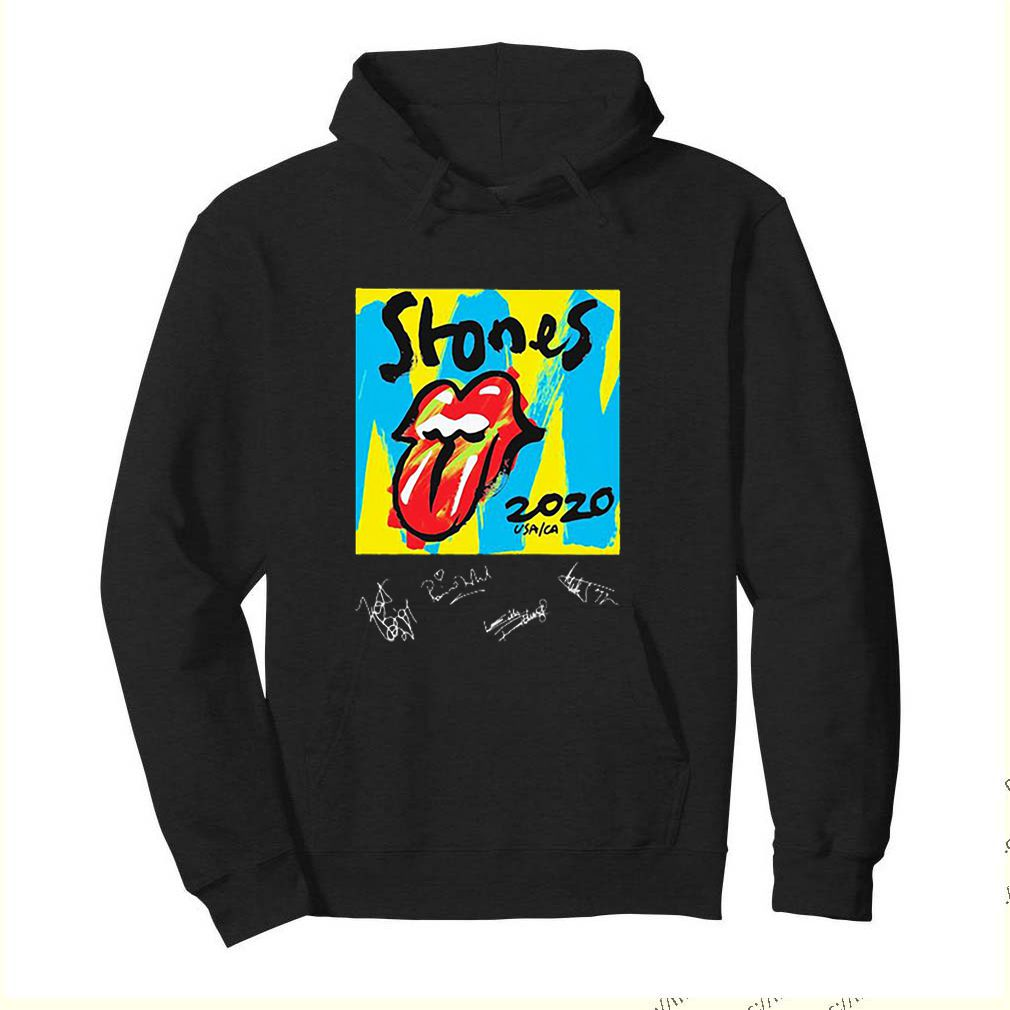 Lips The Rolling Stones 2020 USA CA signatures