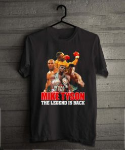 Mike Tyson the legend is back
