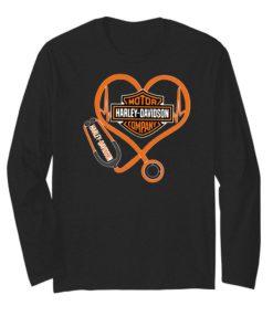 Motor Harley Davidson Company stethoscope heartbeat Nurse