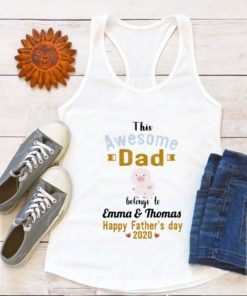 Pig the awesome dad before to Emma & Thomas happy father's day 2020