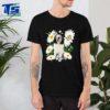 Polish Lowland Sheepdog Daisy flower Classic T-
