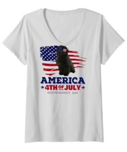 Puli Dog America 4th Of July Independence Day