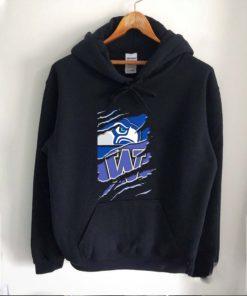 Seattle seahawks and washington huskies football