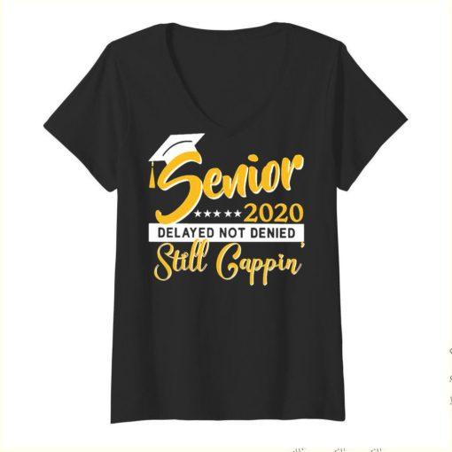 Senior 2020 delayed not denied still cappin yellow