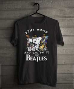 Snoopy And Woodstock Stay Home And Listen To The Beatles s