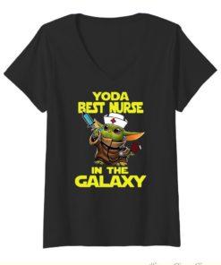 Star Wars Baby Yoda Best Nurse In The Galaxy shirt 1