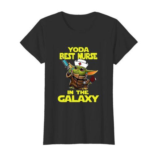 Star Wars Baby Yoda Best Nurse In The Galaxy shirt 3