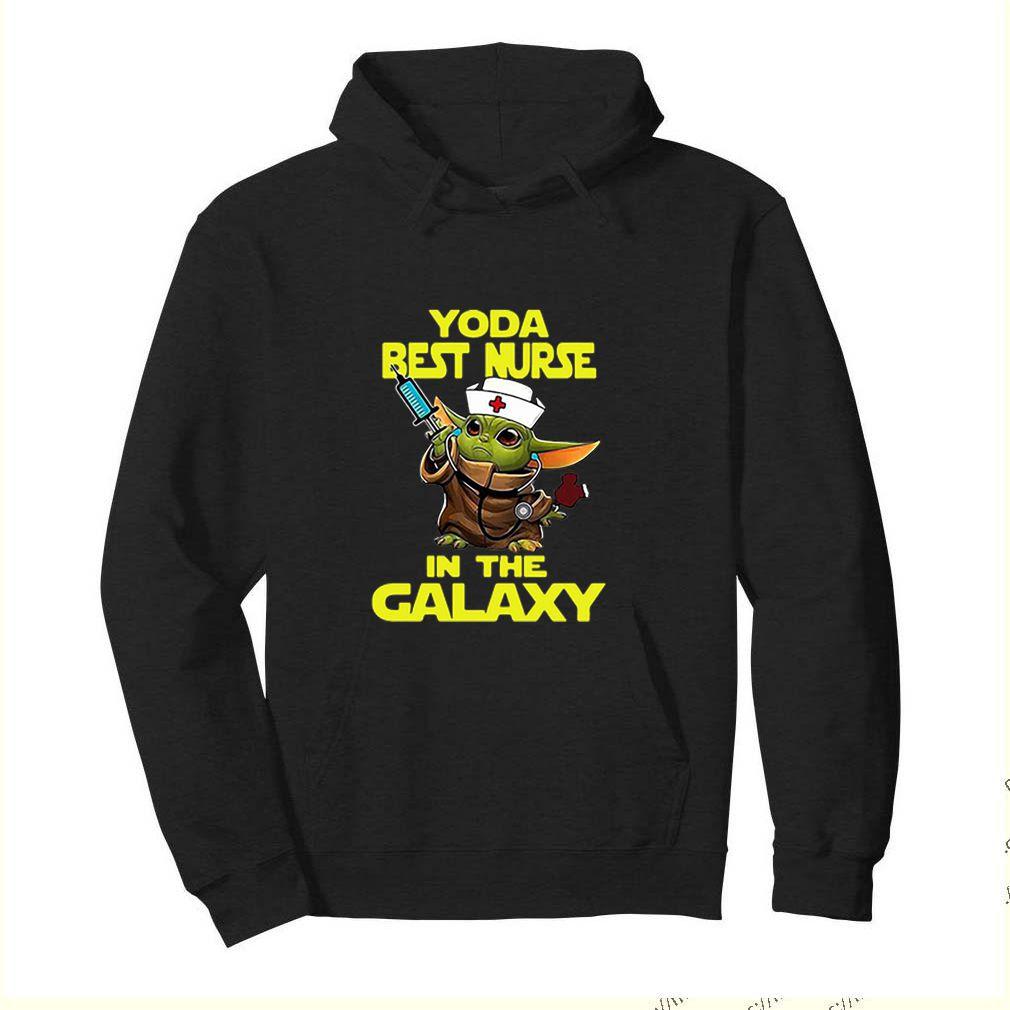 Star Wars Baby Yoda Best Nurse In The Galaxy shirt 4