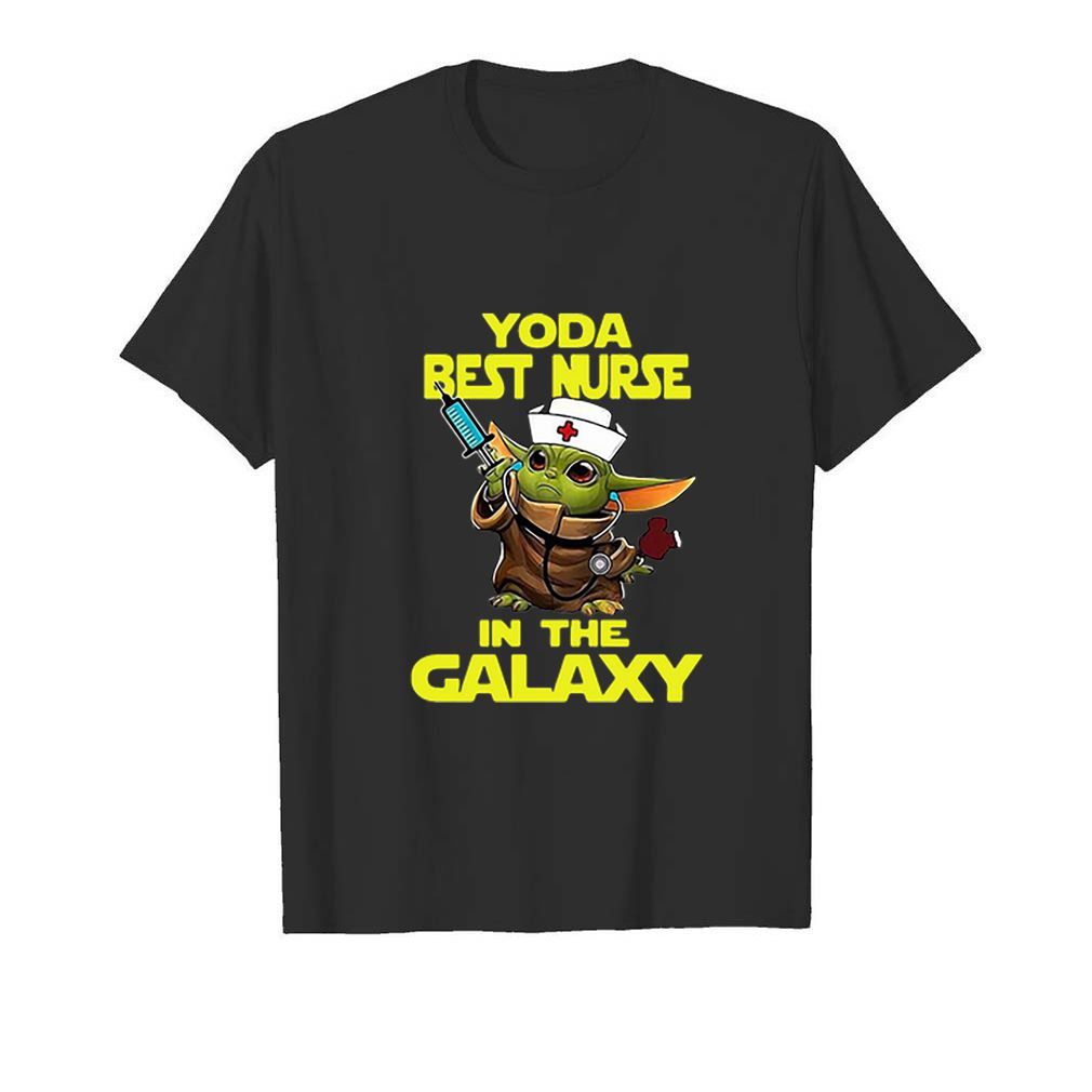 Star Wars Baby Yoda Best Nurse In The Galaxy shirt 5