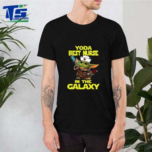 Star Wars Baby Yoda Best Nurse In The Galaxy shirt