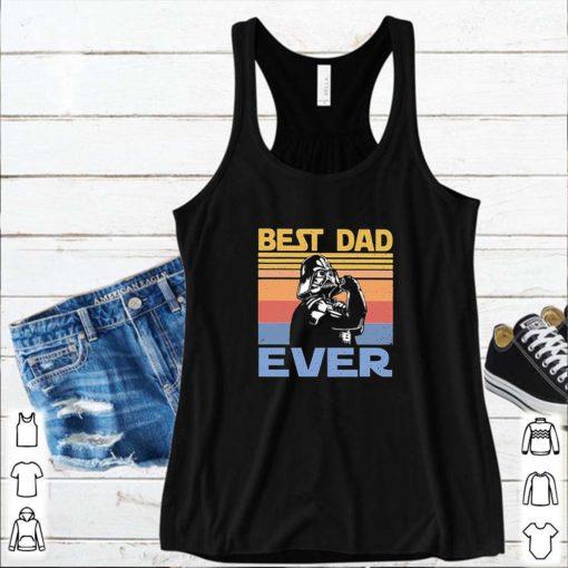 Star Wars Darth Vader Best Dad Ever Vintage Father Day