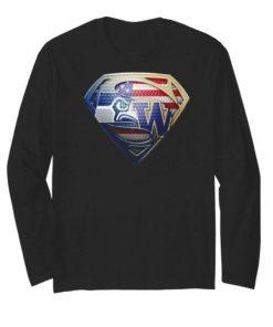Superman Seattle Seahawks vs Wyoming Cavalry