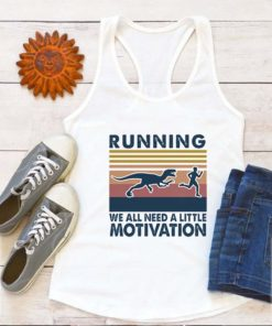 T-Rex Running we all need a little motivation vintage
