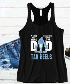 Tar Heels Dad a son's first hero a daughter's first love