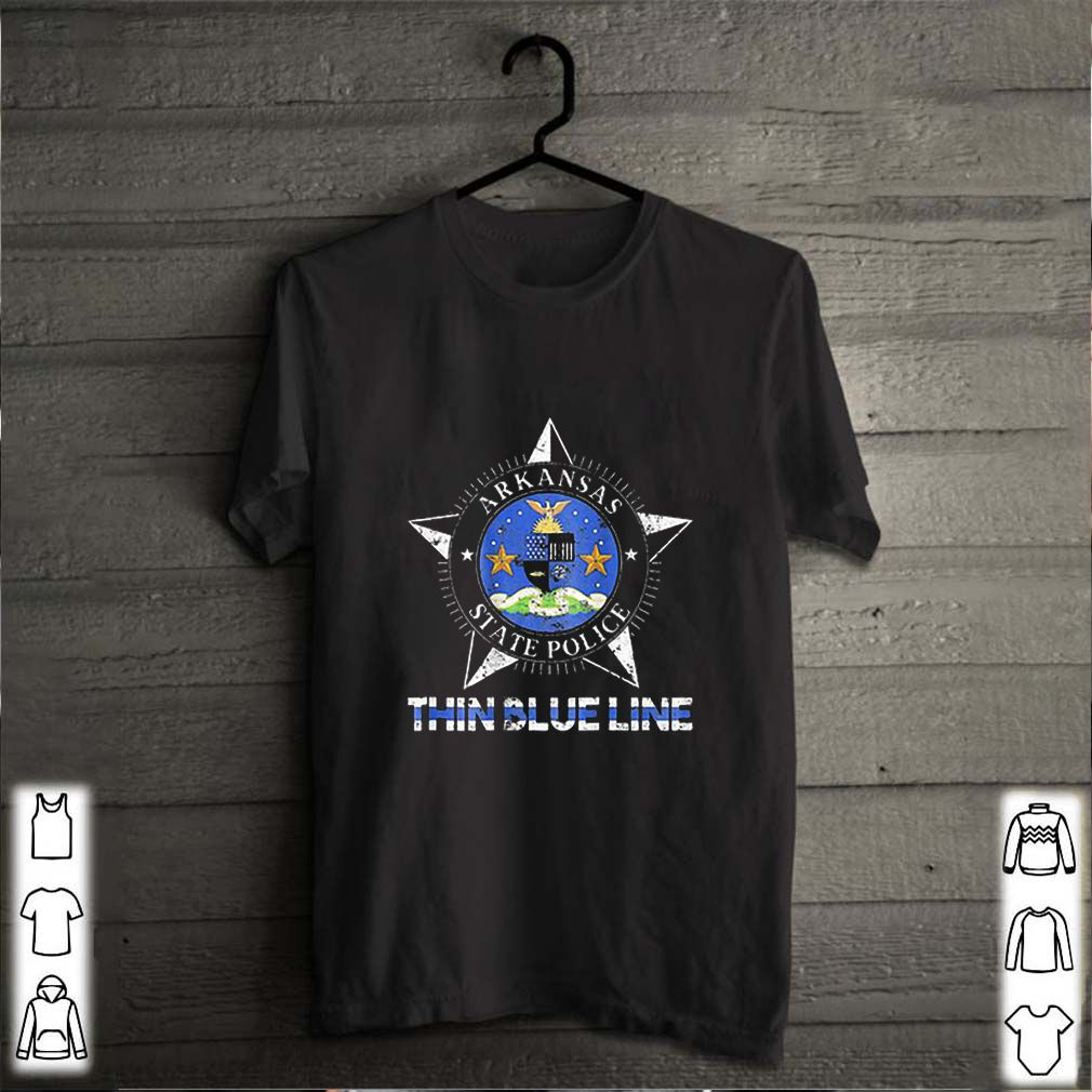 Los Angeles Lakers Champion 2020 NBA Signatures shirtThin Blue Line Arkansas State Police