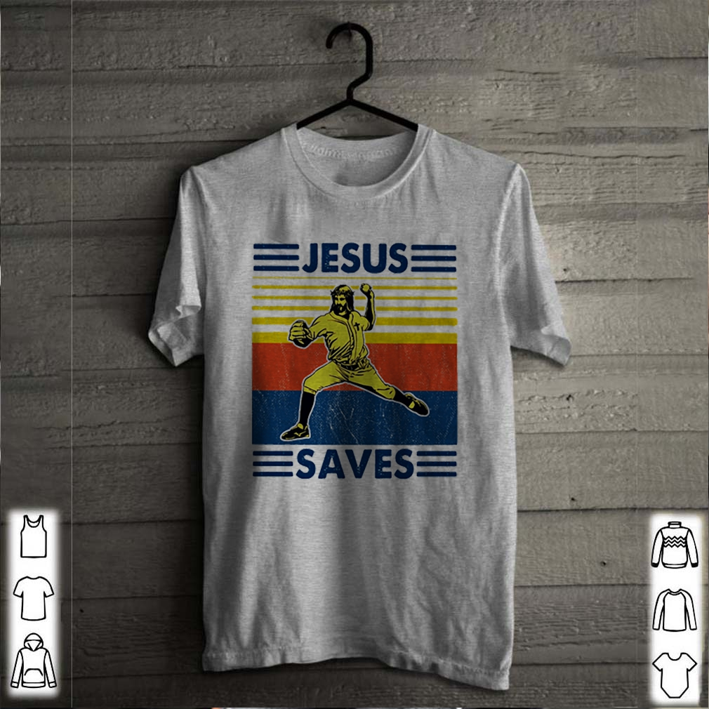 Vintage Baseball Jesus saves