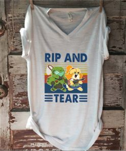 Vintage Rip And Tear