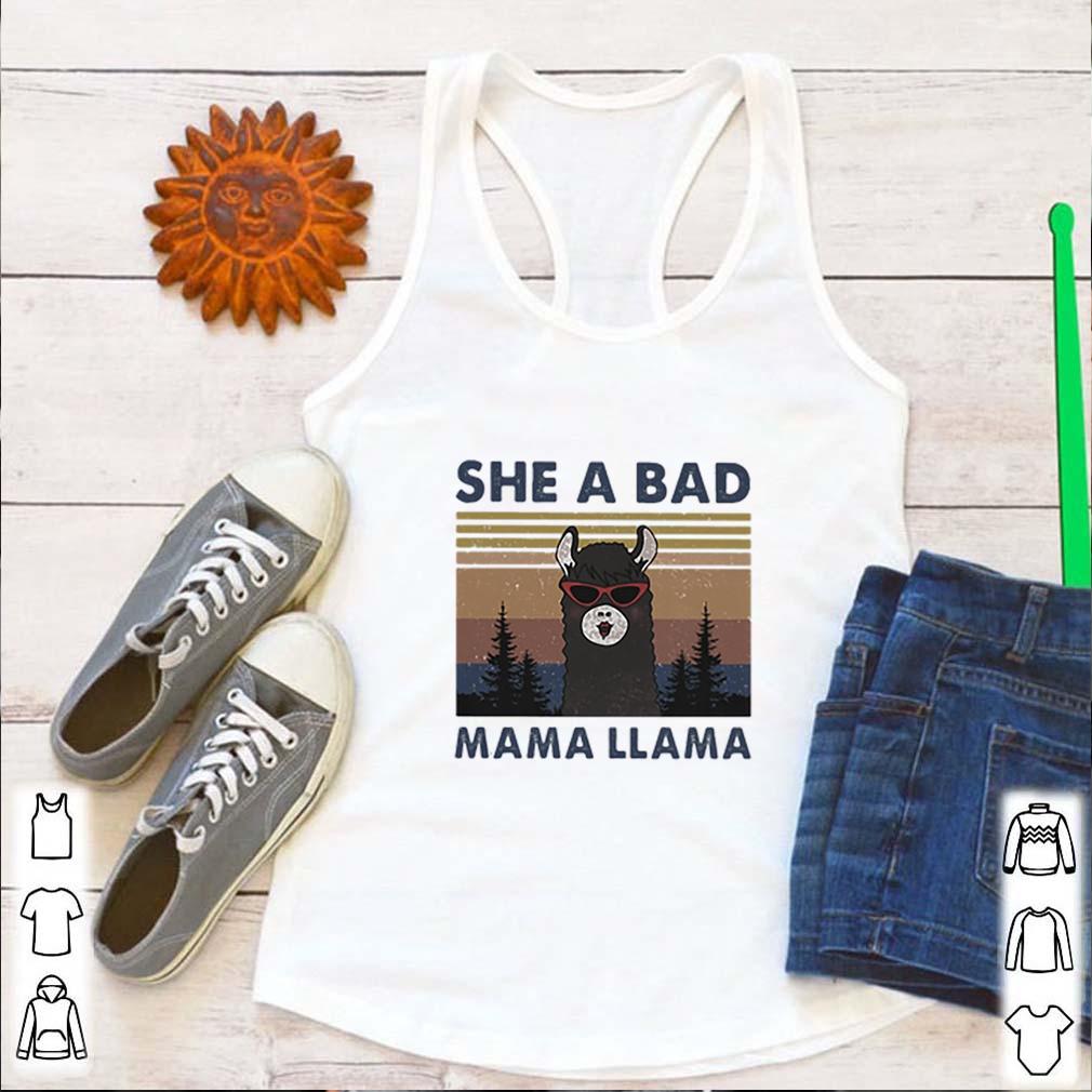 Vintage she a bad mama llama