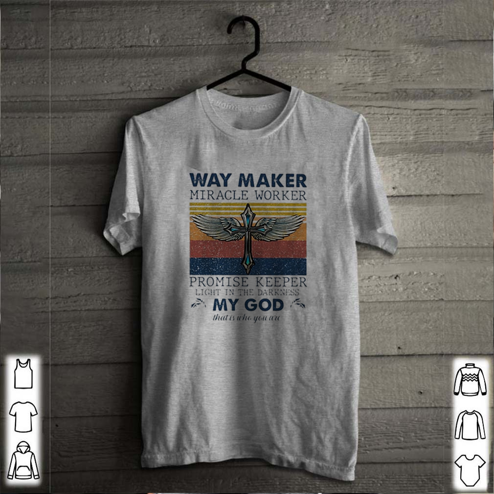 Way maker miracle worker promise keeper light in the darkness vintage