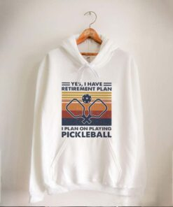 Yes i have retirement plan i plan on playing pickleball vintage retro