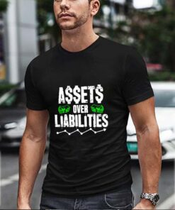 Black assets over liabilities
