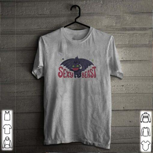Disney Toothless dragon sexy beast shirt 2
