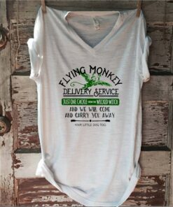 Flying monkey delivery service just one cackle from the wicked witch shirt 1