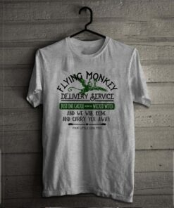 Flying monkey delivery service just one cackle from the wicked witch shirt 2