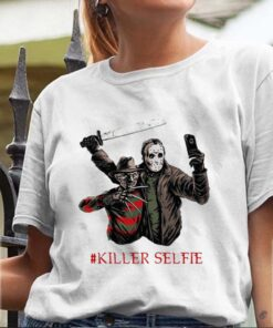 Halloween freddy krueger vs jason killer selfie