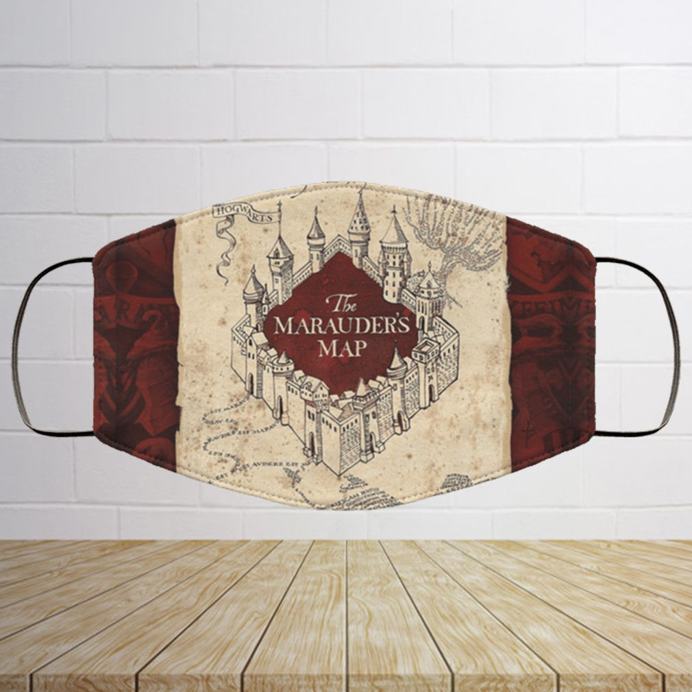 Harry Potter The Marauders Map Face Mask Copy