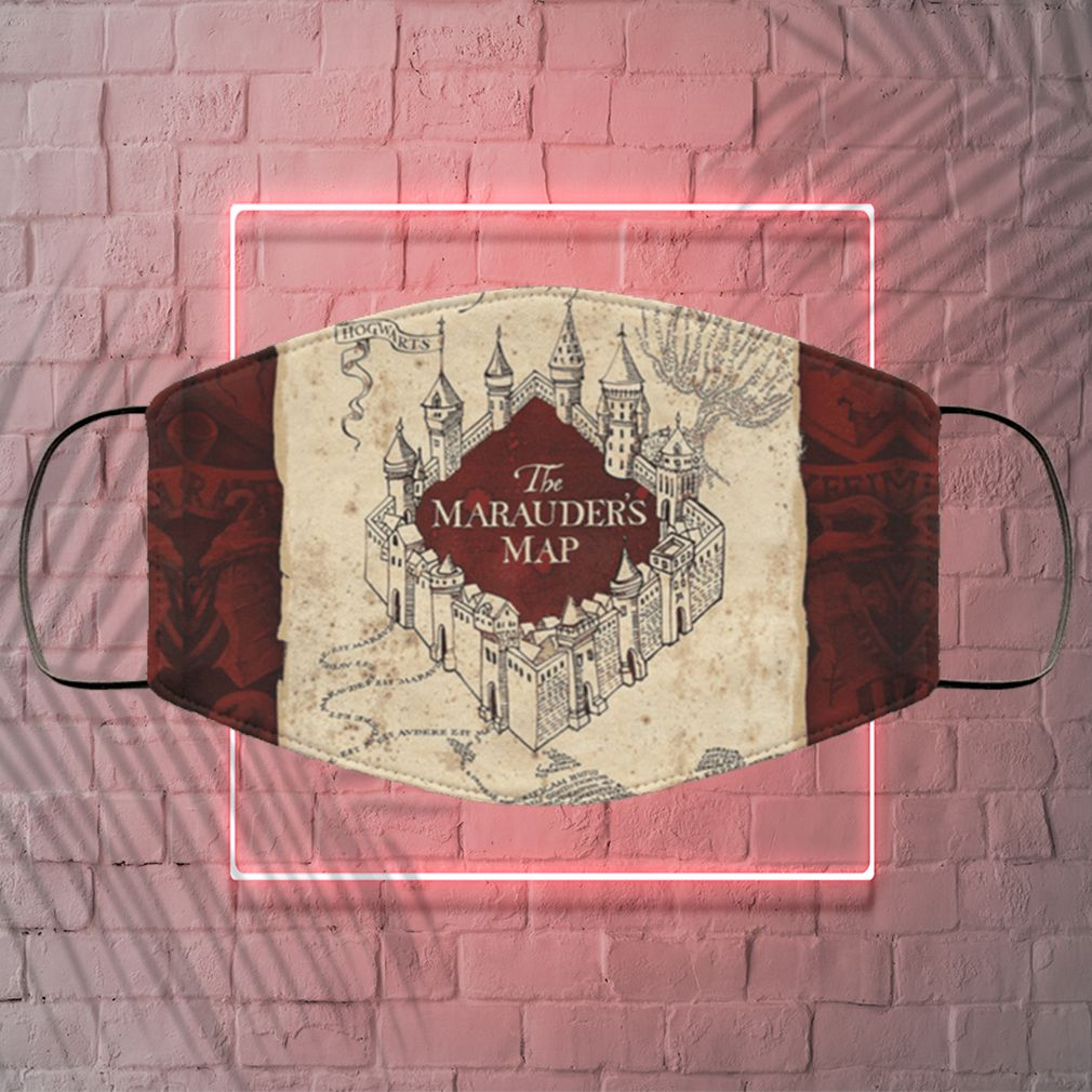 Harry Potter The Marauders Map Face Mask
