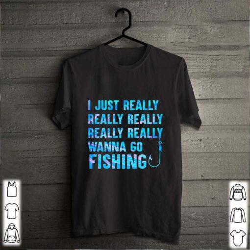 I just really wanna go fishing color