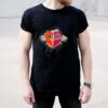 Insides Me Cleveland Browns And Ohio State Buckeyes Heartbeat shirt 3