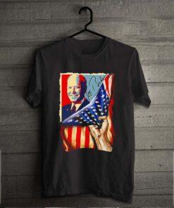 Joe Biden get it to support him USA Flag