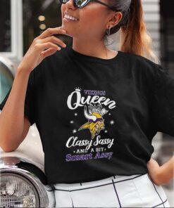 Minnesota Vikings Queen Classy Sassy And A Bit Smart Assy