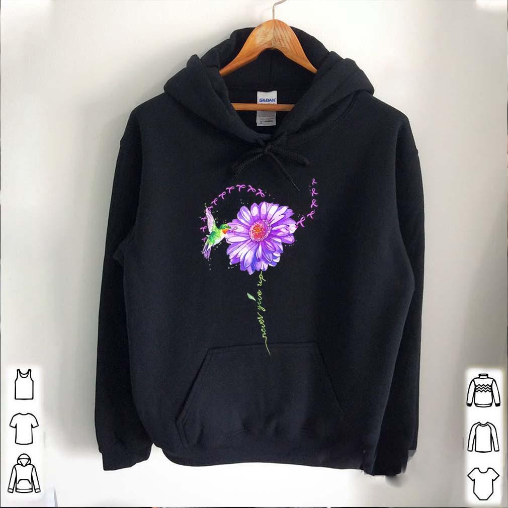 Never give up bird chrysanthemum fibromyalgia
