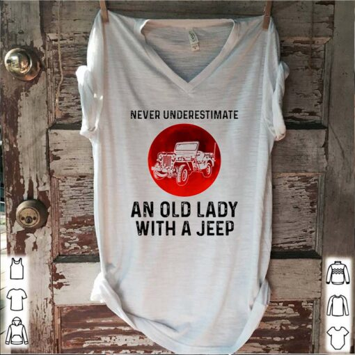 Never underestimate an old lady with a Jeep blood moon