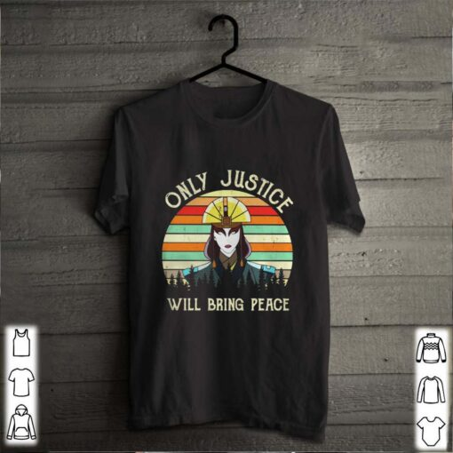 Only Justice will bring peace woman vintage retro