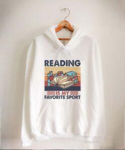 Reading books is my favorite sport vintage retro shirt