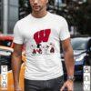 The peanuts wisconsin-madison hockey shirt