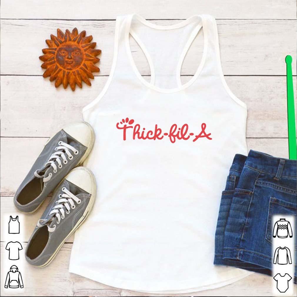Thick-Fil-A Chick-Fil-A logo shirt