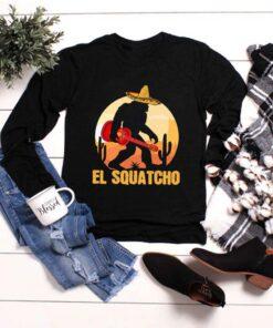 Bigfoot Hug Guitar El Squatcho